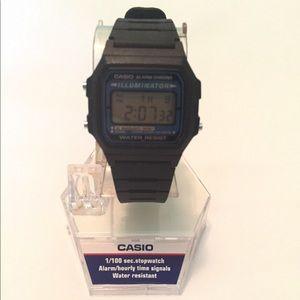 NWT Casio Digital Watch Navy